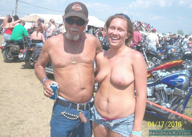 nude biker rallies