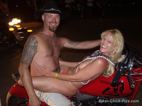 The nude biker rally blowjob are