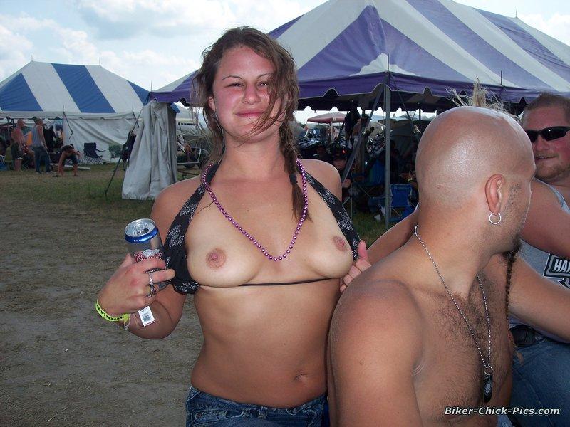 Consider, Biker rally babes naked 2009 solved